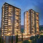 Punta del parque apartamentos en envigado, fachada en Crear Cimientos
