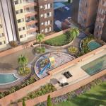 Punta del parque apartamentos en envigado, zona comun en Crear Cimientos