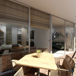 Balcón de Class Suites, proyecto en Medellín de CrearCimientos