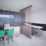 Consultorio en edificio Consultorios del Sur, proyecto de salud en Envigado de Crear Cimientos