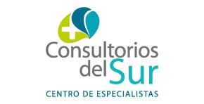 Logo color Consultorios del Sur, proyecto de salud en Envigado de Crear Cimientos