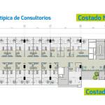Planta típica Consultorios del Sur, proyecto de salud en Envigado de Crear Cimientos