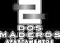 logo blanco 3 del proyecto ejecutado Dos Maderos de Crear Cimientos