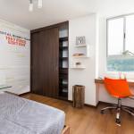 Segunda alcoba Lyon, proyecto de apartamentos en Envigado de Crear Cimientos