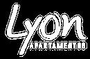 Logo blanco Lyon, proyecto de apartamentos en Envigado de Crear Cimientos