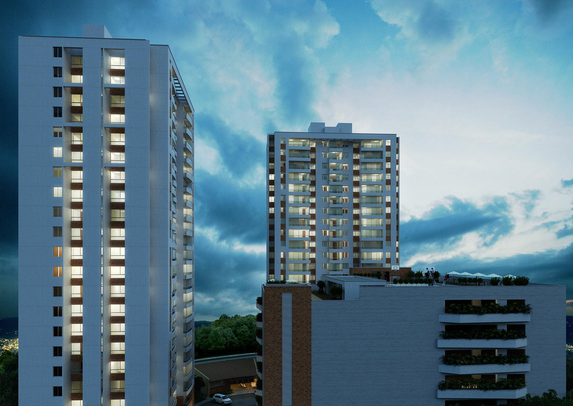 Crear Cimientos tiene apartamentos en sabaneta de Manzana Once vista 1