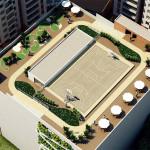 Crear Cimientos tiene apartamentos en sabaneta de Manzana Once con canchas.