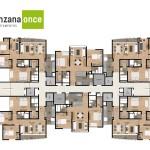 Planos 5 en apartamentos en sabaneta de Manzana Once de Crear Cimientos