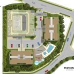 Planos urbanismo de apartamentos en sabaneta de Manzana Once de Crear Cimientos