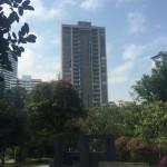 obra de apartamentos Mondrian en Medellin de Crear Cimientos