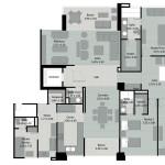 Planos 2 de apartamentos Mondrian en Medellin de Crear Cimientos